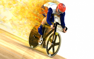 OpenFOAM® simulation of flow around a cyclist using DES.