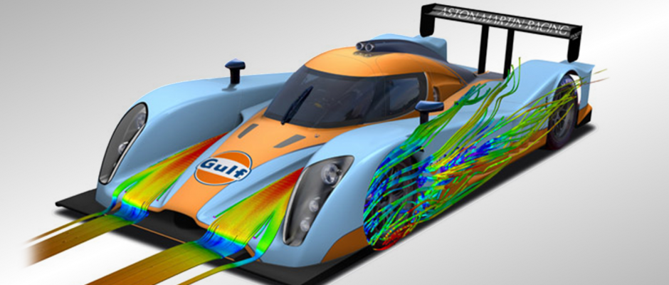 Aston LMP1 - Developed in partnership with TotalSim
