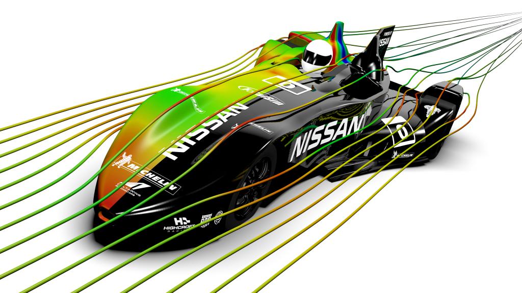The Digital Race Car  Computational Fluid Dynamics  CFD  TotalSim
