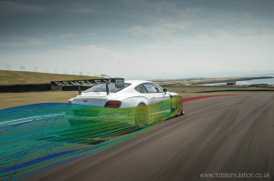 Bentley GT3 – TotalSim have been aiding Bentley with the aerodynamic development of GT3 race car developed from the iconic Continental GT