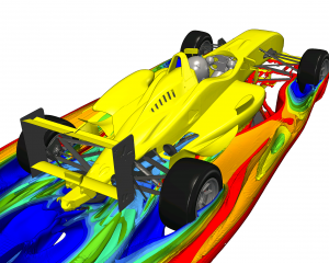 F3 wheel wakes modelling in CFD